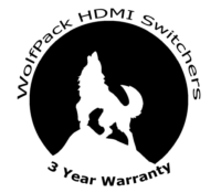 WolfPack HDMI Switchers 3 Year Warranty