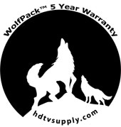 WolfPack 5 Year Warranty
