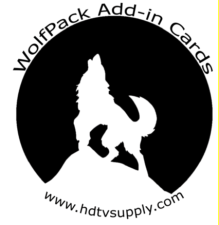 WolfPack Add-in Cards