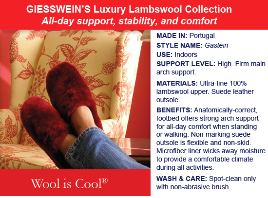 Giesswein Luxury Lambswool Features