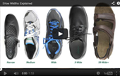 Shoe Widths Video