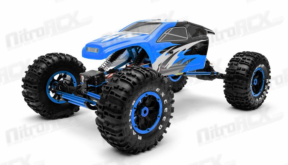 exceed rc 1 8th mad torque rock crawler ready to run blue rc rh nitrorcx com