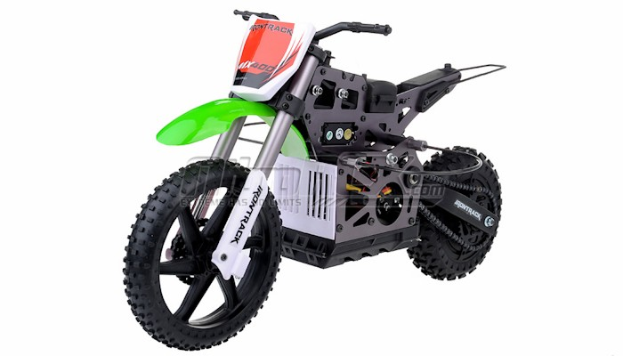 New 1 4 Scale Mx400 Remote Control 2 4ghz Electric Rtr Brushless