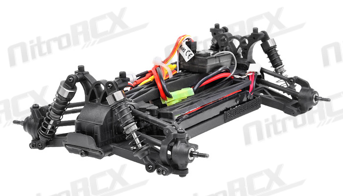 iron track electric centro 1 18 4wd brushless truggy ready to run  black  rc remote control