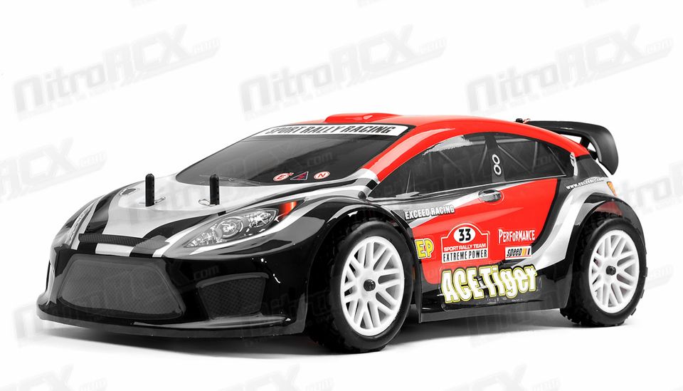 1/10 2.4Ghz Exceed RC Electric AceTiger Rally Car Ready to Run (Red ...