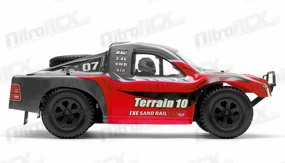 Exceed RC Racing Terrain 1/10 Scale Short Course Truck Ready to Run