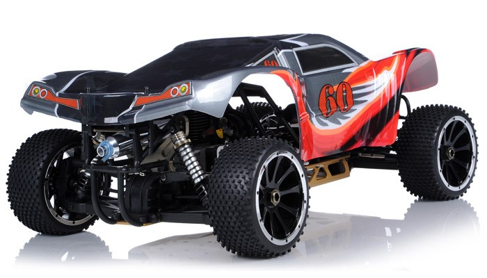 Racing Radio Car 1 5th Giant Scale Exceed Rc Wild Bull 30cc Gas