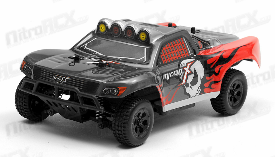 MicroX Racing 1/24 Micro Scale Short Course Truck Ready to Run 2.4 on