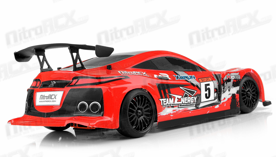 Team Energy X10dr Belt Drive Pro Drift Car Ready To Run With