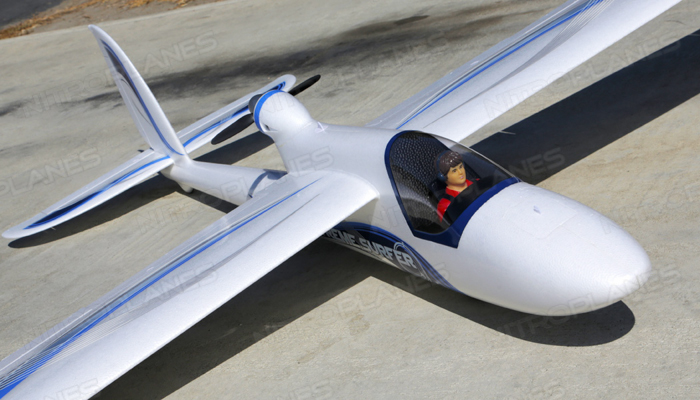 Airfield Giant Convertible EDF Power RC Glider Kit 2400mm