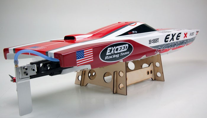 Exceed Racing Electric Powered Fiberglass Dee V 720mm RC Boat Kit ...