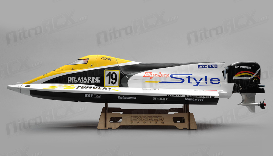 Exceed Formula 1 650MM Electric Powerboat Almost Ready to ...