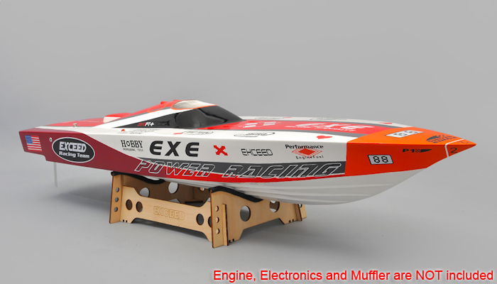 New Exceed Racing Fiberglass Gas Powered RC 1300mm Speed