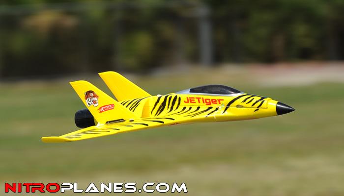 2 4ghz Art Tech Jet Tiger Electric Ducted Fan Rtf 4