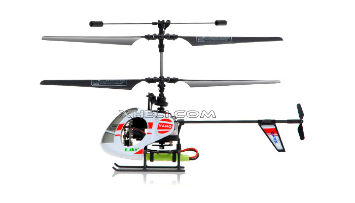new esky 2 4g nano rtf 4 channel mini helicopter  a  white