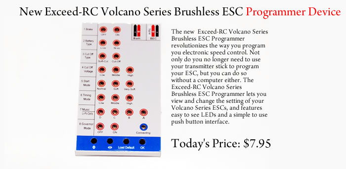 ESC Programming Card