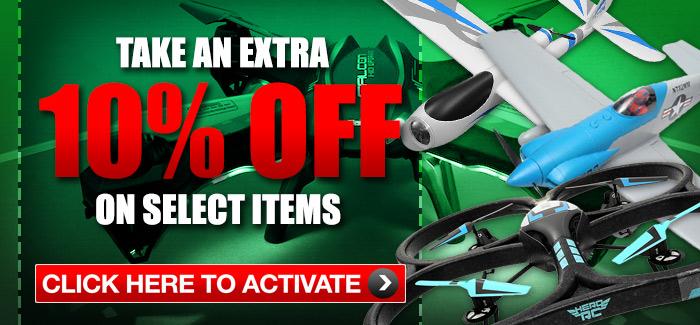 Extra 10 percent off
