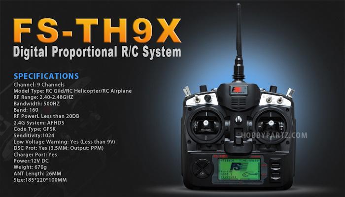 Fly Sky FS-TH9X 2.4GHz 9CH Transmitter