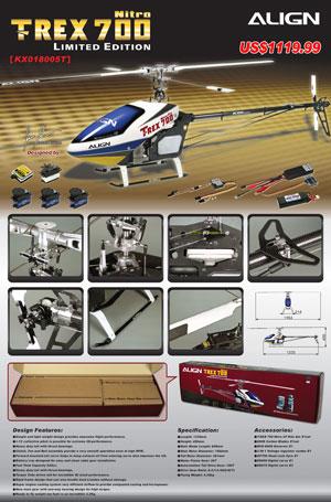 Trex 700LTD Flyer