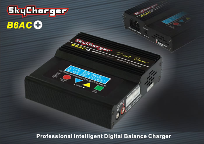 Sky LiPo RC Battery Charger w/ USB