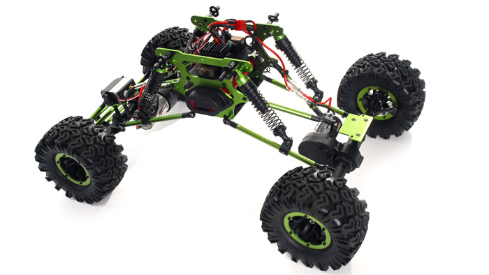 RC Radio Truck 1/10 Scale Exceed RC Mad Crawler 4WD RTR Remote ...