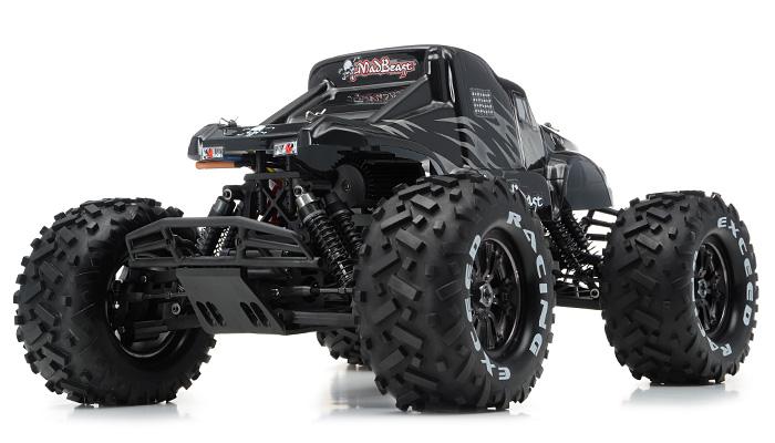 1/8Th EP Mad Beast Monster Truck Racing Edition Almost Ready to Run