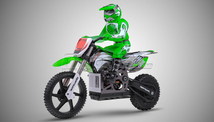 new 1 4 scale mx400 remote control 2 4ghz electric rtr brushless off road motorcycle. Black Bedroom Furniture Sets. Home Design Ideas
