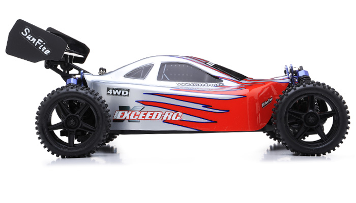 Off road buggy radio car 1 10 2 4ghz exceed rc electric for Rc electric motor oil