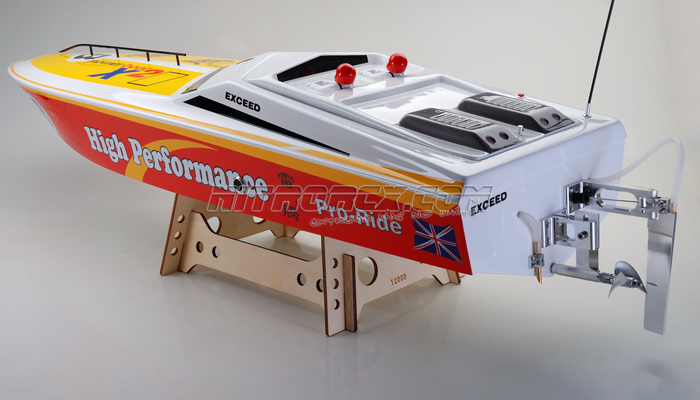 Exceed Racing FiberGlass X2 1300GS260 Gas Powered Speed Boat KIT