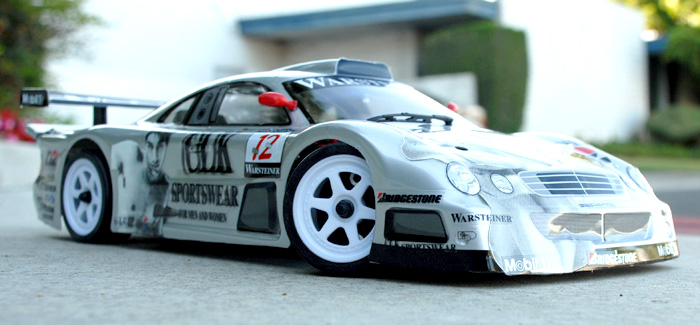 Cen 1 10 Scale Mercedes Benz Clk 12 Body Shell Fully Painted Decaled
