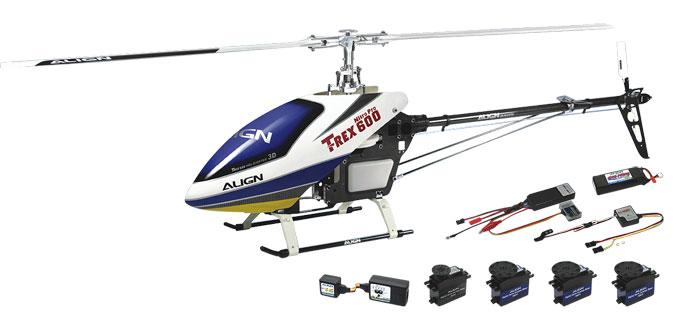 Trex 600 Flybarless
