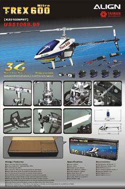 Trex 600SE Flyer
