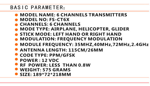 Exceed RC 2.4Ghz RC Transmitter + Receiever (Full Version)