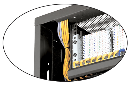 Top Frame Cabling