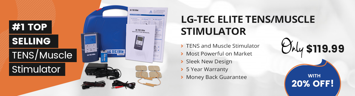 #1 TOP SELLING TENS/Muscle Stimulator
