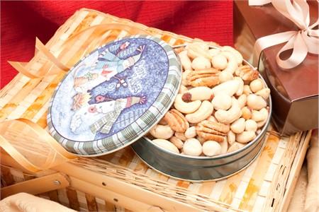 8oz Superior Mixed Nuts Holiday Gift Tin