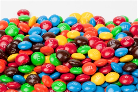 Assorted Milk Chocolate M&M's Candy (25 Pound Case)