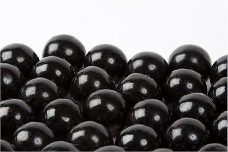 Black Gourmet Gumballs (14 Pound Case)