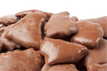 Chocolate Covered Peanut Brittle (25 Pound Case)