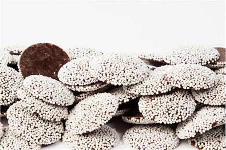 Chocolate Nonpareils (25 Pound Case)