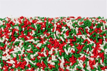 Christmas Sprinkles (4 Pound Bag)