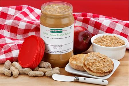 Chunky Peanut Butter (2.5 Pound Jar)