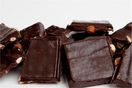 Dark Chocolate Almond Bark (1 Pound Bag)