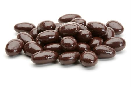 Dark Chocolate Covered Almonds (25 Pound Case)