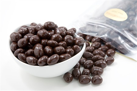 Dark Chocolate Covered Peanuts (5 Pound Bag)