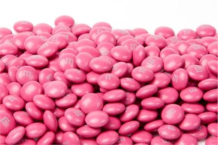 Dark Pink Milk Chocolate M&M's Candy (10 Pound Case)