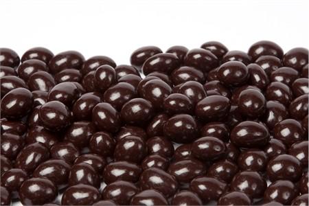 Decaf Dark Chocolate Covered Espresso Beans (1 Pound Bag)