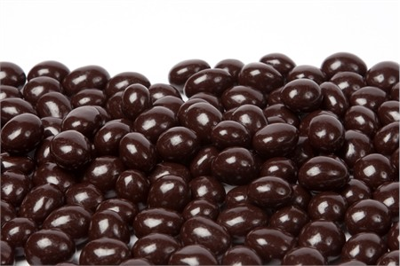 Decaf Dark Chocolate Covered Espresso Beans (5 Pound Bag)