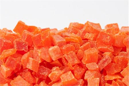 Dried Papaya - Diced (1 Pound Bag)
