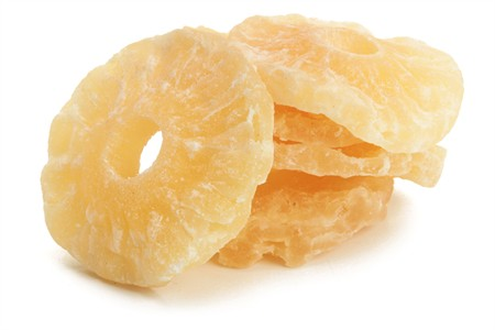 Dried Pineapple Rings (44 Pound Case)